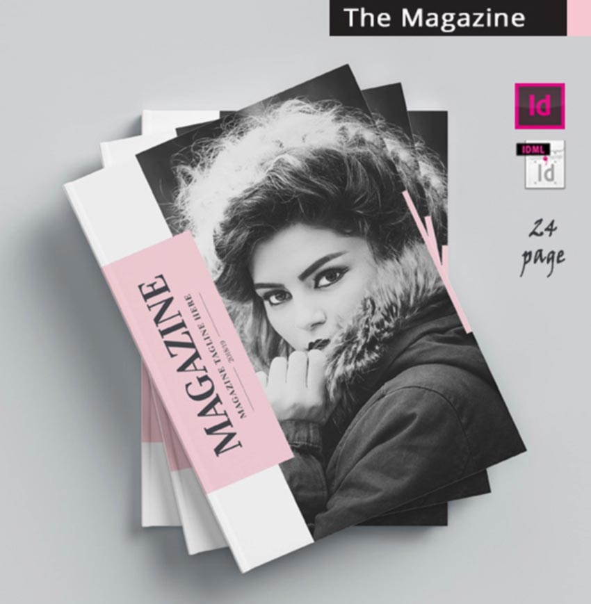 The Magazine Template