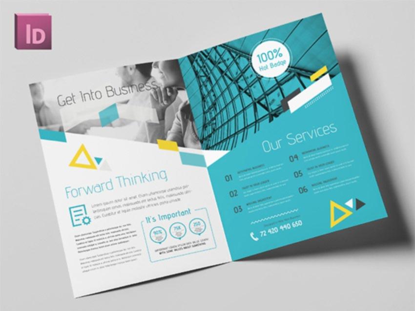 Vibrant Bifold Brochure