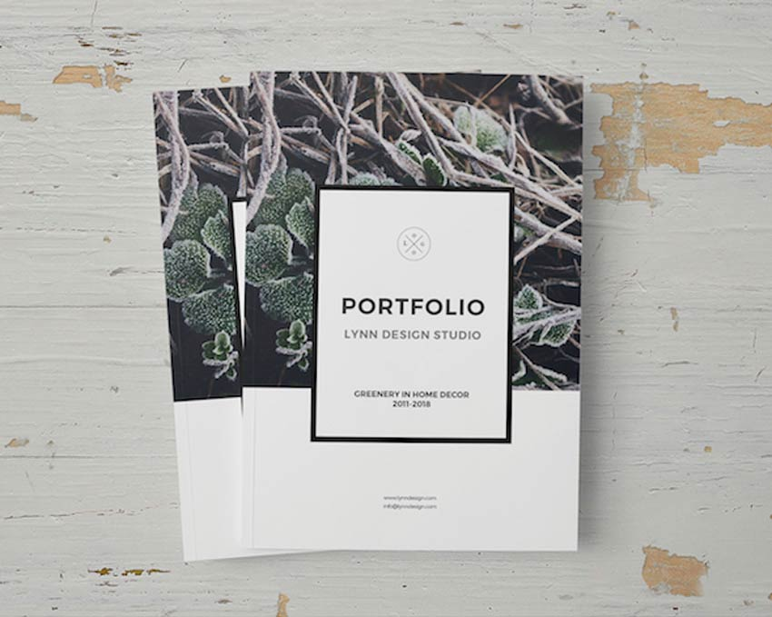 28 Creative Indesign Portfolio Templates Best For 2020