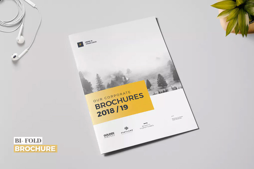 Business Bi-Fold Brochure