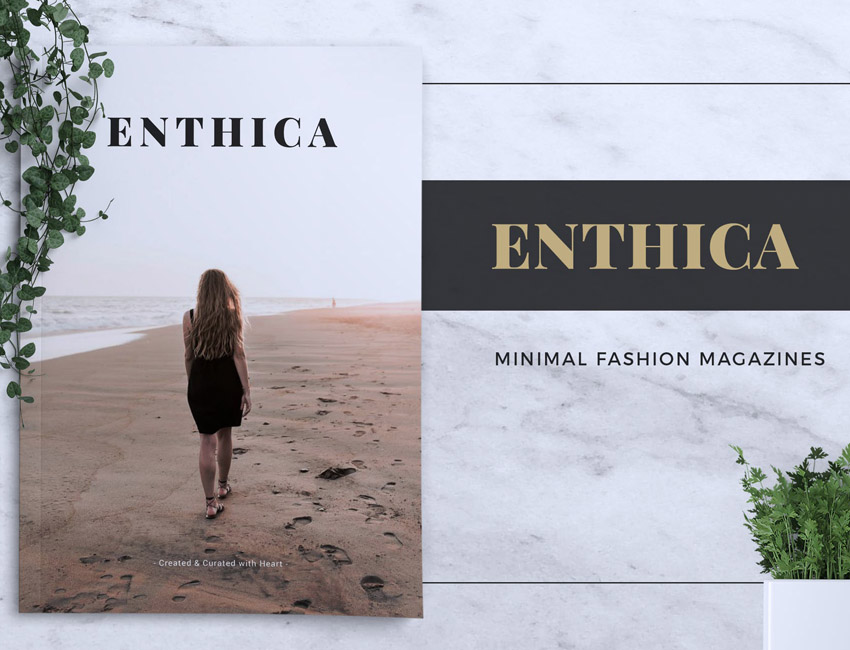 ENTHICA Fashion Magazine Template