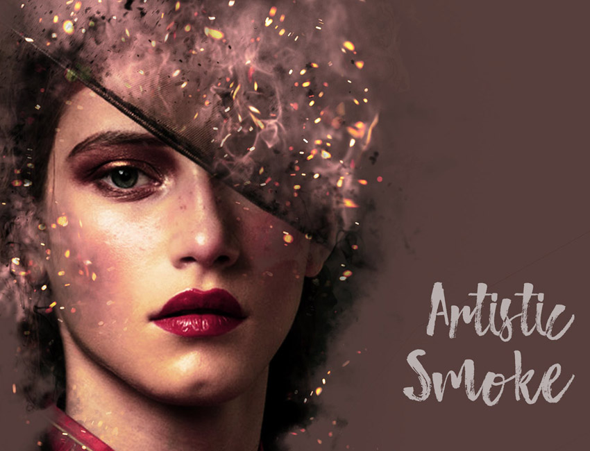 Artistic Smoke Photo Effect