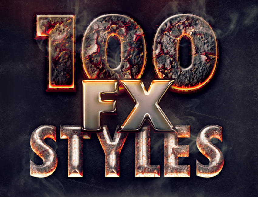 100 Text Effects Bundle