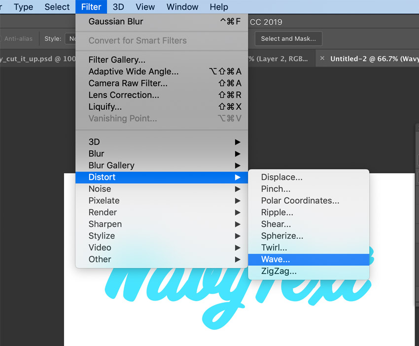 How to Create a Wavy Text Effect in Photoshop
