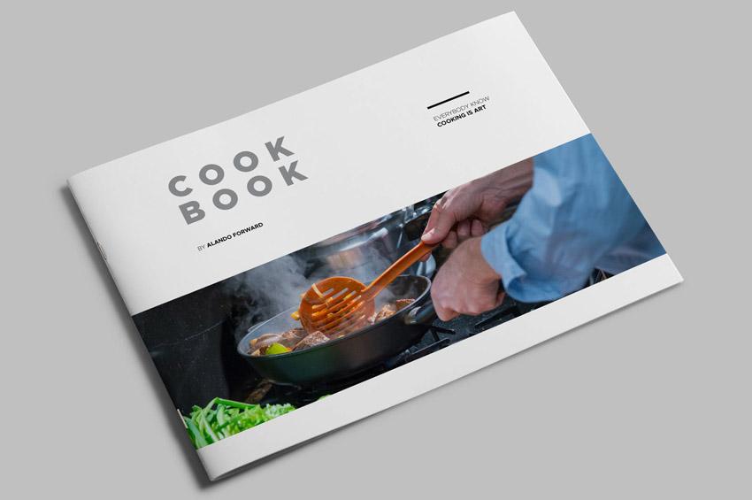Cookbook Template InDesign