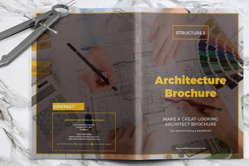 Architecture InDesign Brochure