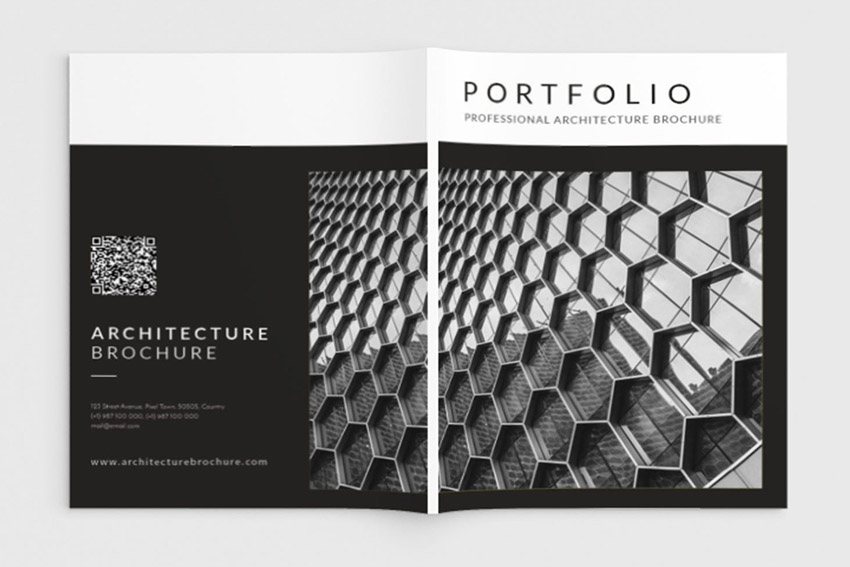 Architecture Portfolio Brochure InDesign