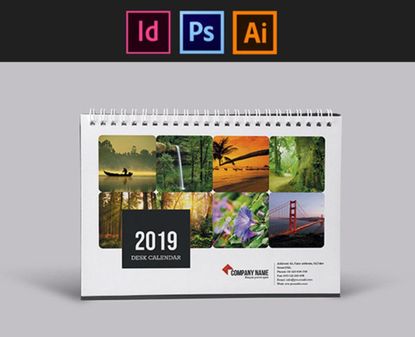 Multi Platform Desk Calendar