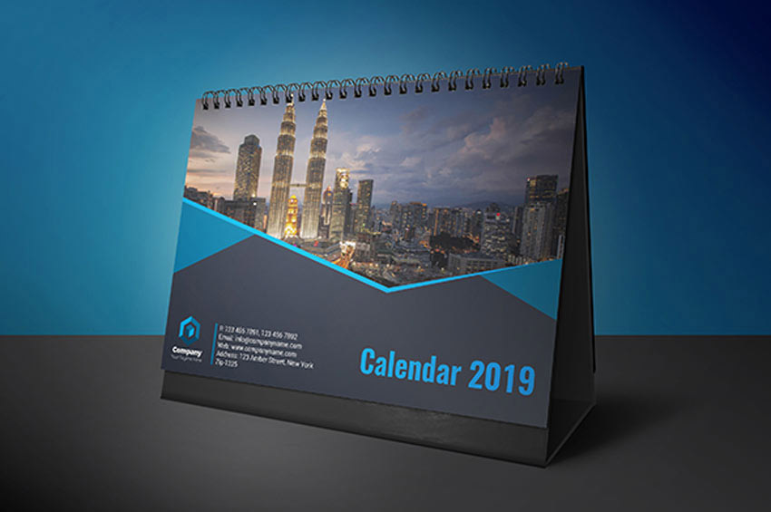 Desk Calendar InDesign