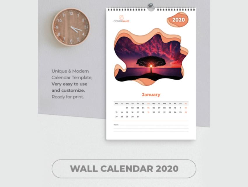 Creative Calendar 2020