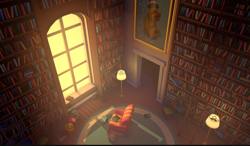 Book Room by Aerial_Knight