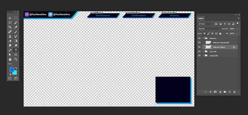 webcam overlay maker