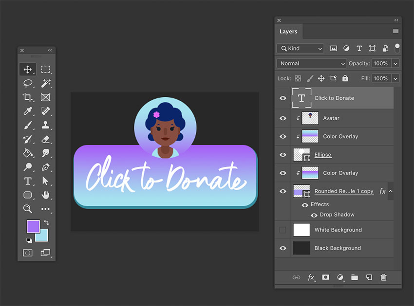 how to make a donation panel on twitch