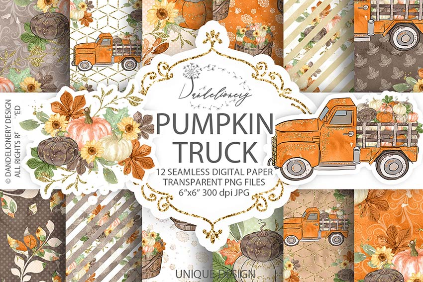 Fall Scrapbooking Kit