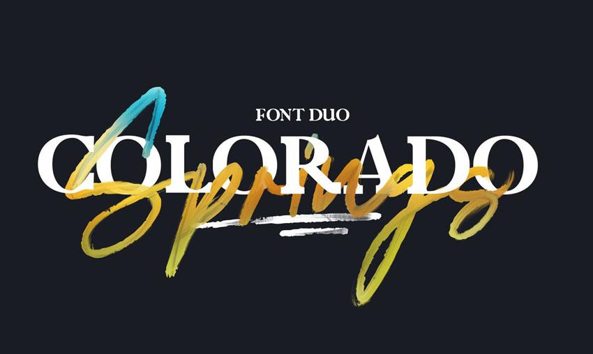 Colorado Springs Font
