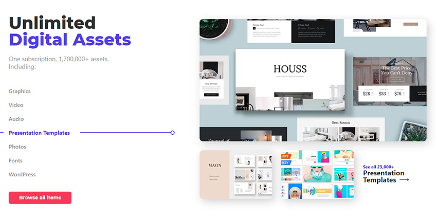 Envato Elements Unlimited Digital Assets