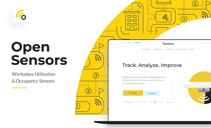 Open Sensors Redesign Case Study by Anton Aladzhov