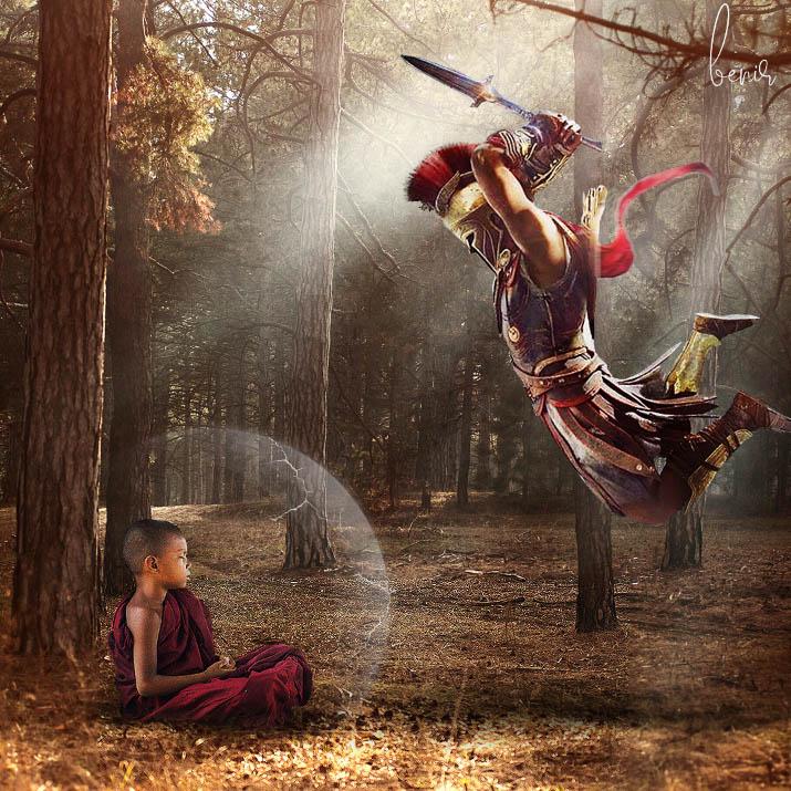 Monk by Tim Gichuru Bnir