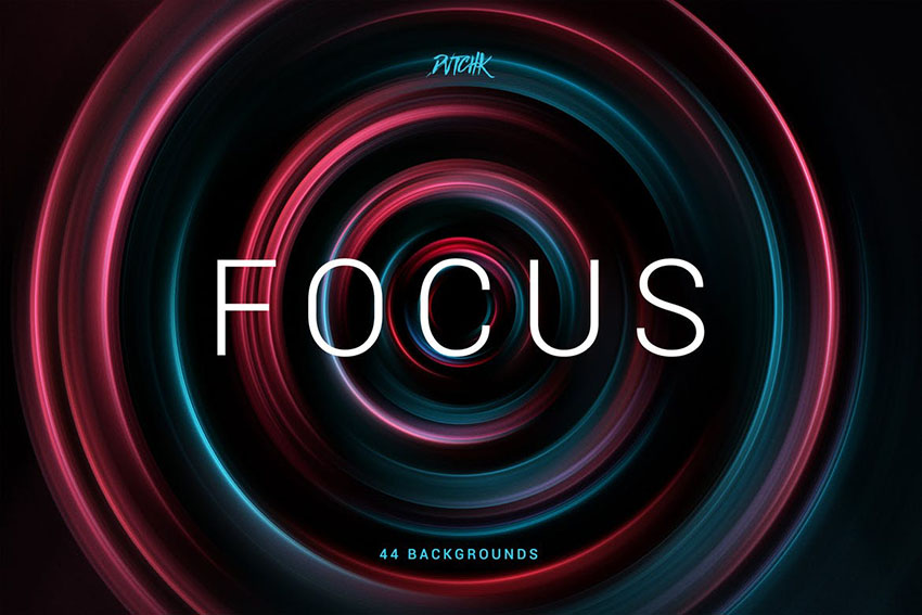 Focus  Colorful Zoom Backgrounds by devotchkah