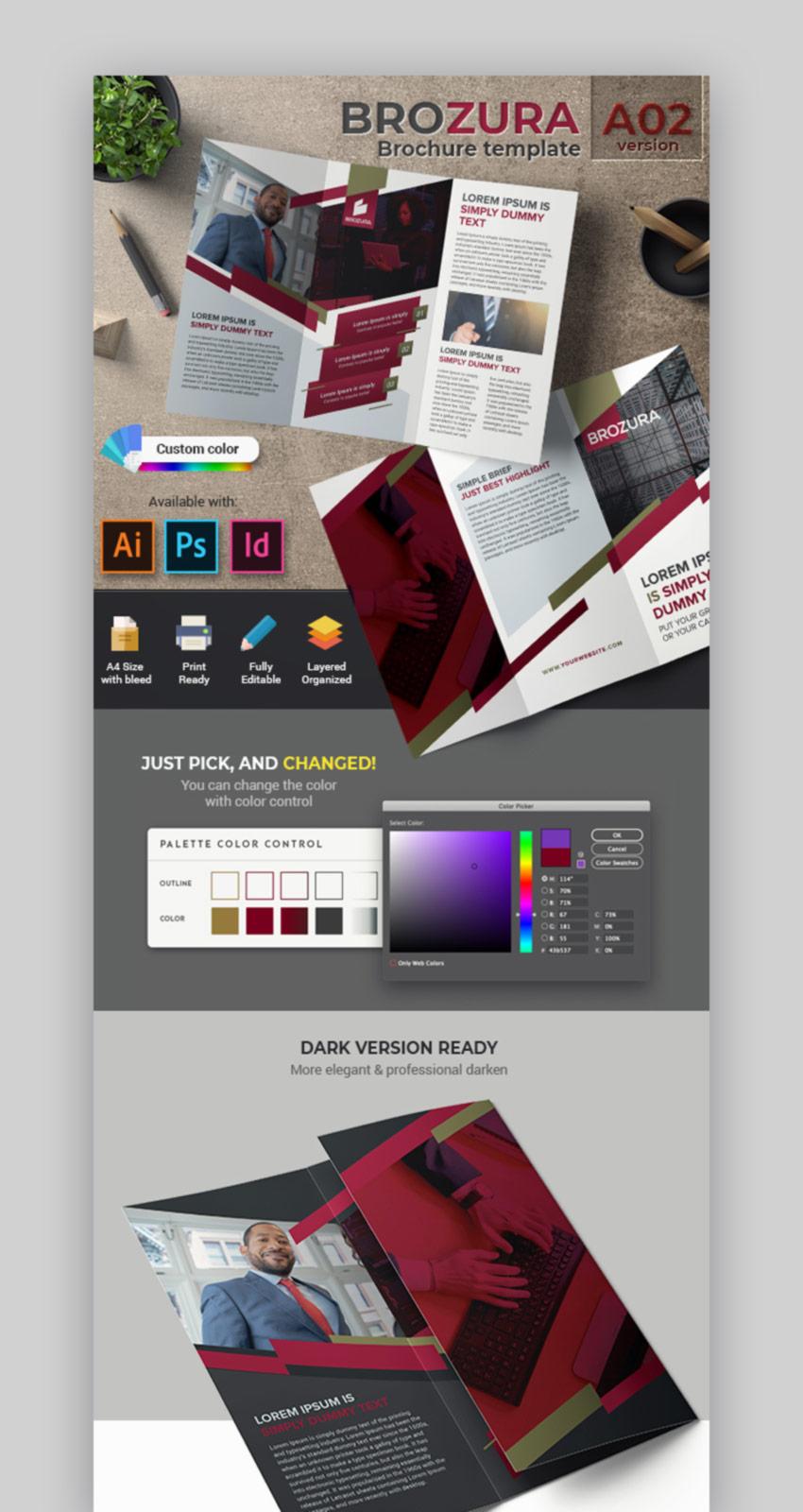 Brozura Serie A02 - Brochure Template