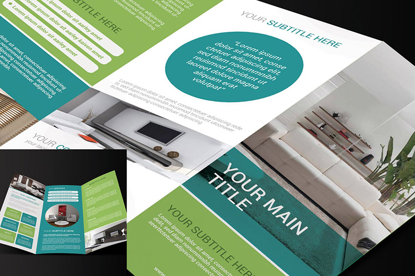 20 Best Free Bifold Tri Fold Brochure Template Designs Download 2021