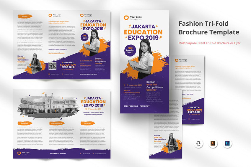 Educational Brochure Template