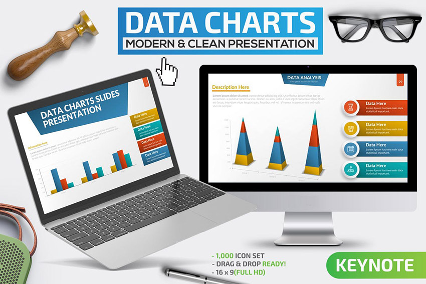 Data Charts Keynote Presentation