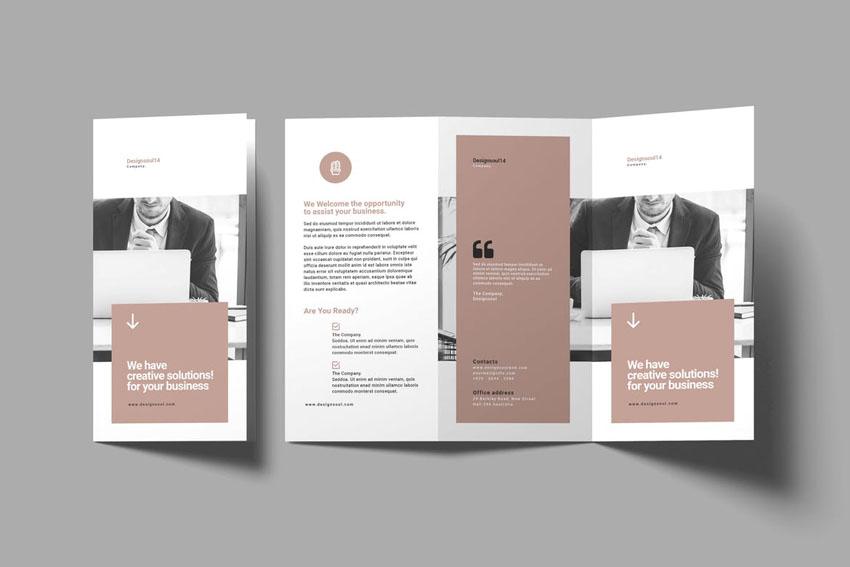 Template Brochure Design