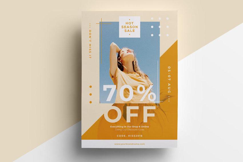 Fashion Flyer Template Design