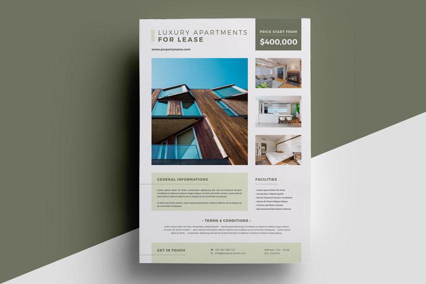 Property Flyer Design Template