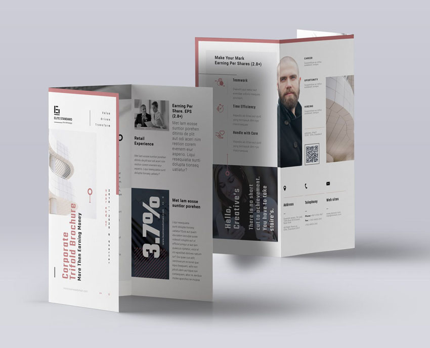 affinity publisher brochure template