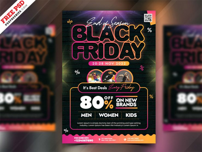 Black Friday Sale Event Flyer