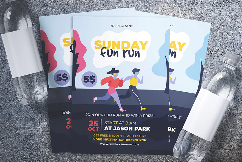 Running Event Flyer