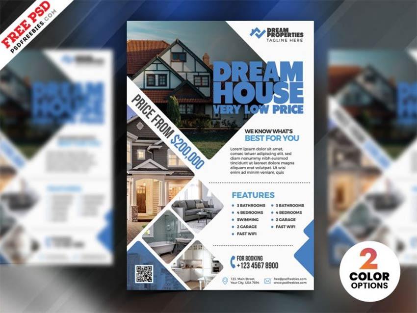 Free Real Estate Flyer Design