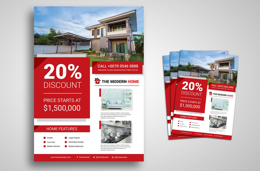 20 Best Free Real Estate Flyer Templates Design Ideas For Agents 2021
