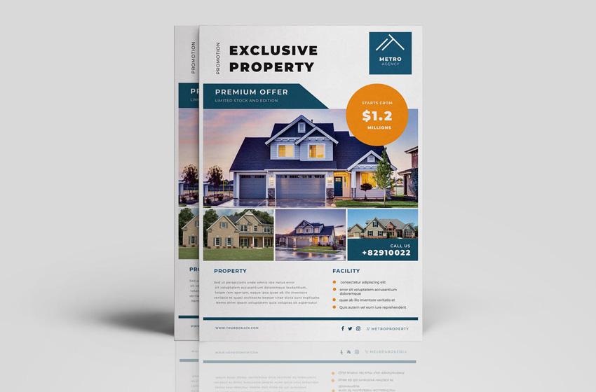 best real estate flyer templates