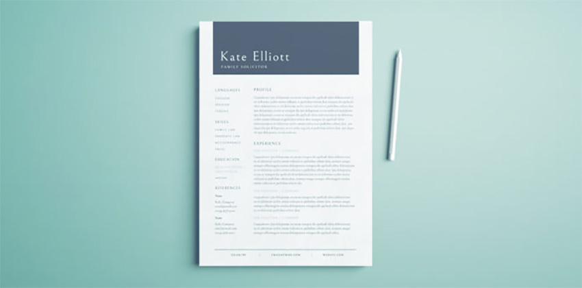 Resume Flyer Design