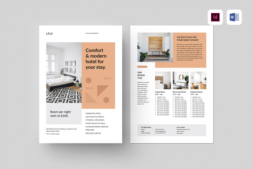 20 Free Adobe Indesign Flyer Template