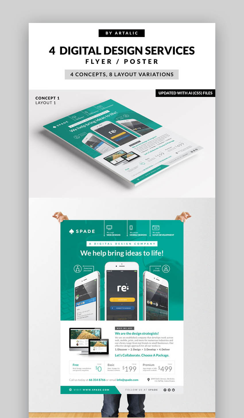 WebAppGraphic Services FlyerPoster