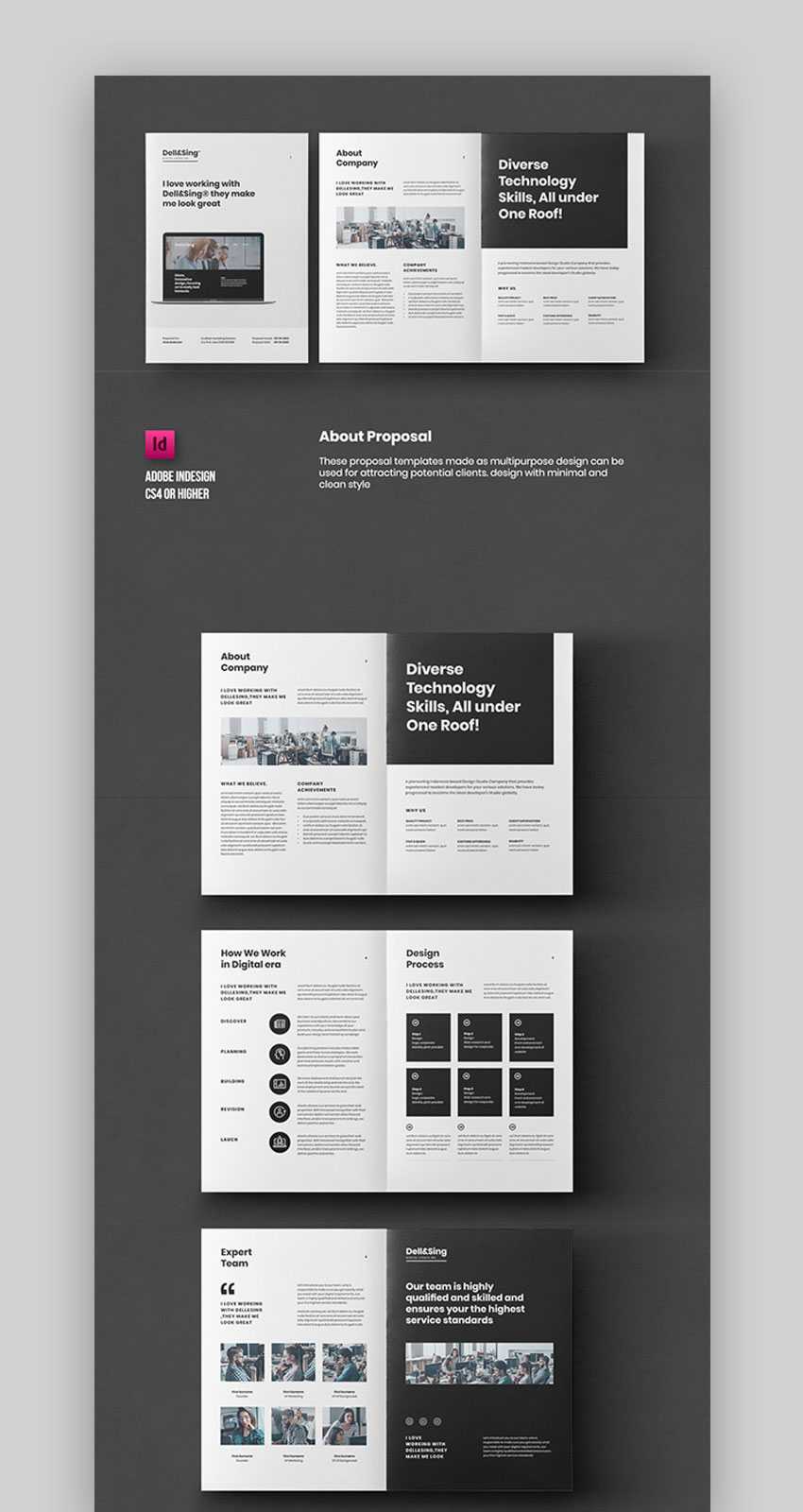 InDesign Proposal Template Design