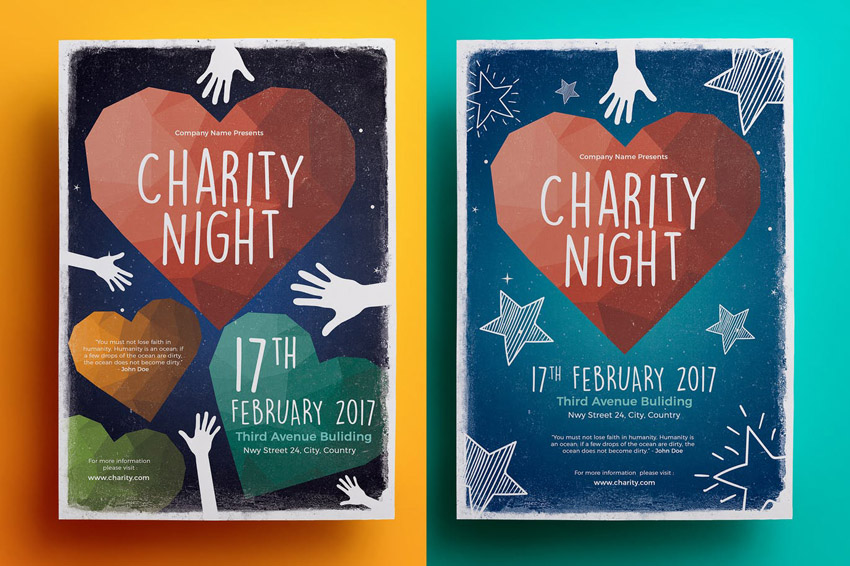 20 Best Free Fundraiser Flyer Templates