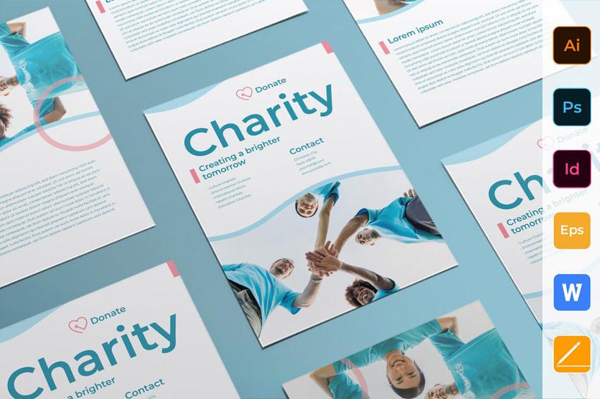 Charity Funraiser Template