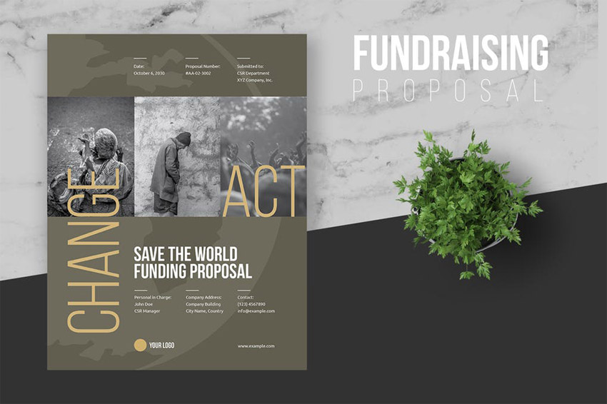 Fundraiser Proposal Template