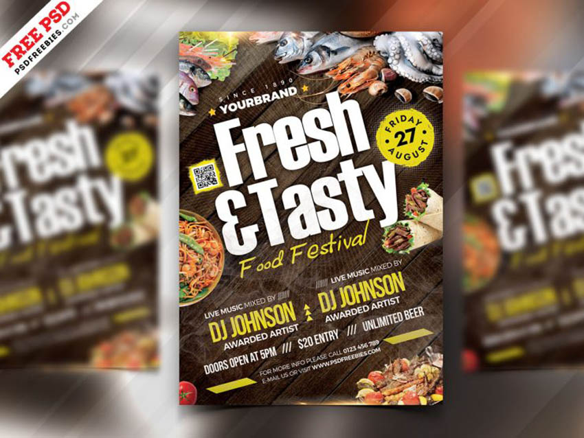 Food Themed Event Flyer
