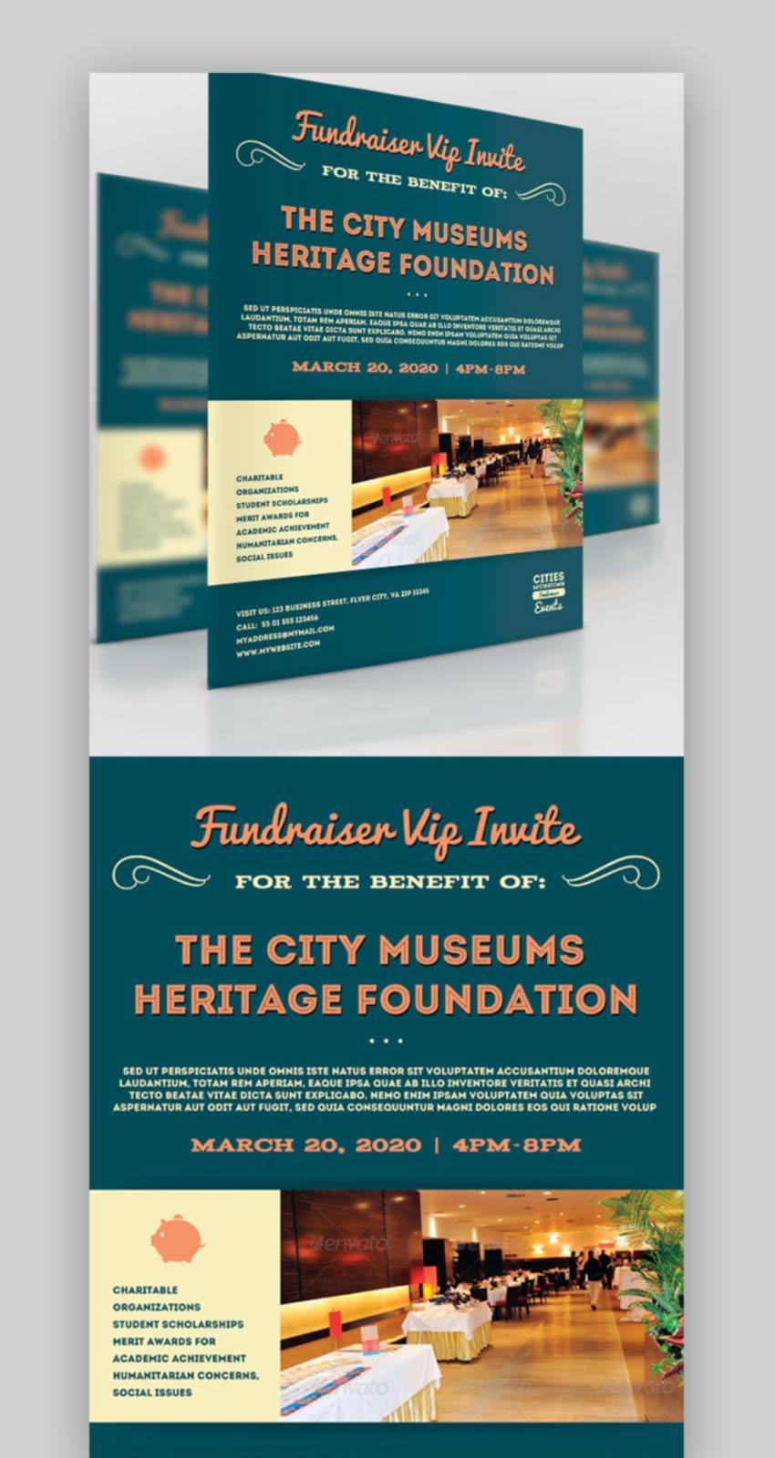 Business Fundraiser Flyer