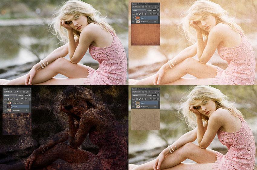 10 Free Photoshop Overlay Backgrounds