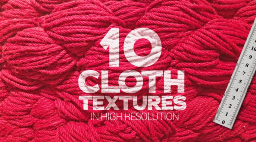 High Resolution Cloth Textures