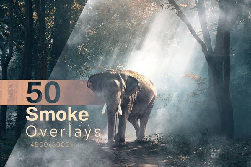 50 Smoke Overlays for Adobe Photoshop