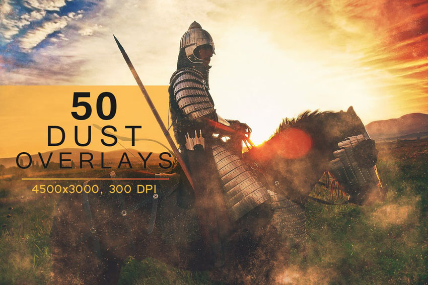 50 Photoshop Overlays Bundle