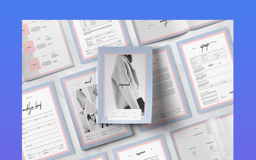 Pitch Pack InDesign Design Templates